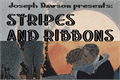 Illustration of font Stripes and Ribbons