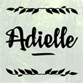 Illustration of font Adielle PERSONAL USE ONLY