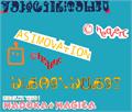 Illustration of font Asimovation