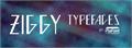 Illustration of font Ziggy