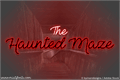 Illustration of font The Haunted Maze
