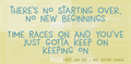 Illustration of font DK New Beginnings
