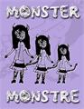 Illustration of font Monster