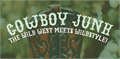 Illustration of font Cowboy Junk DEMO