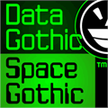 Illustration of font JLS Data Gothic