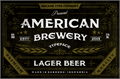 Illustration of font American Brewery Rough
