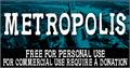 Illustration of font CF Metropolis Serif