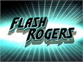 Illustration of font Flash Rogers
