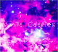 Illustration of font Vanilla Galaxies by Breely