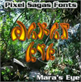 Illustration of font Mara's Eye