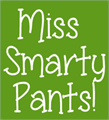 Illustration of font Miss Smarty Pants