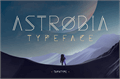 Illustration of font Astrobia