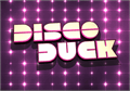 Illustration of font Disco Duck