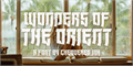 Illustration of font Wonders of the Orient