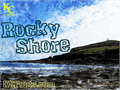 Illustration of font Rocky Shore