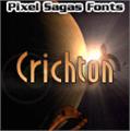 Illustration of font Crichton