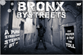 Illustration of font Bronx Bystreets