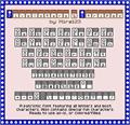 Illustration of font Pixelstars & Stripes Regular