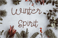 Illustration of font Winter Spirit-Slash