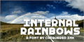 Illustration of font Internal Rainbows