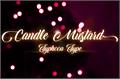 Illustration of font Candle Mustard