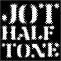 Illustration of font Jot Halftone