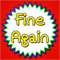 Illustration of font Fine Again