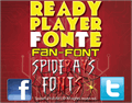 Illustration of font READY PLAYER FONTE