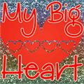 Illustration of font My Big Heart Demo