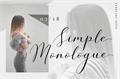 Illustration of font Simple Monologue DEMO