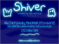 Illustration of font Shiver