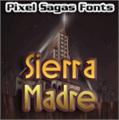 Illustration of font Sierra Madre