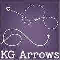 Illustration of font KG Arrows