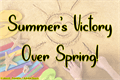 Illustration of font Summers Victory Over Spring
