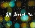 Illustration of font JGScriptOn