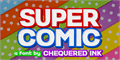 Illustration of font Super Comic