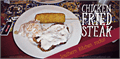 Illustration of font Chicken Fried Steak