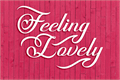 Illustration of font Feeling Lovely