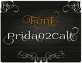 Illustration of font Prida02Calt