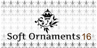 Sample image of Soft Ornaments Sixteen font by Intellecta Design