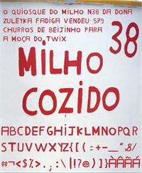 Sample image of Milho Cozido font by Marcus Dejean