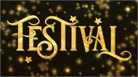 Sample image of festival font by JoannaVu