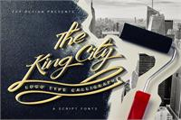 Sample image of King City Free Font by feydesign