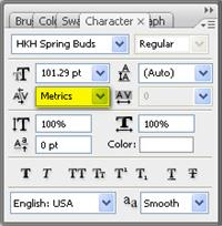 Sample image of HKH Spring Buds  font by Poemhaiku