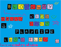 Sample image of Blockway font by heaven castro