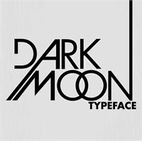 Sample image of Dark Moon font by weslo