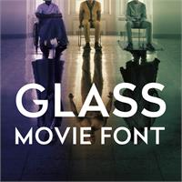 Sample image of Glass font by FZ Fonts