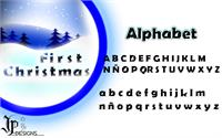 Sample image of Firts Christmas font by LJ Design Studios
