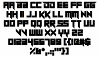 Sample image of Sheeping Cats font by Chequered Ink