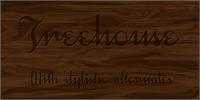 Sample image of Treehouse DEMO font by Måns Grebäck